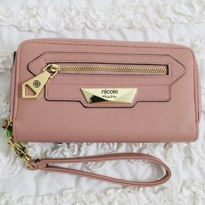 Nicole by Nicole Miller Dori Zip Around Wallet